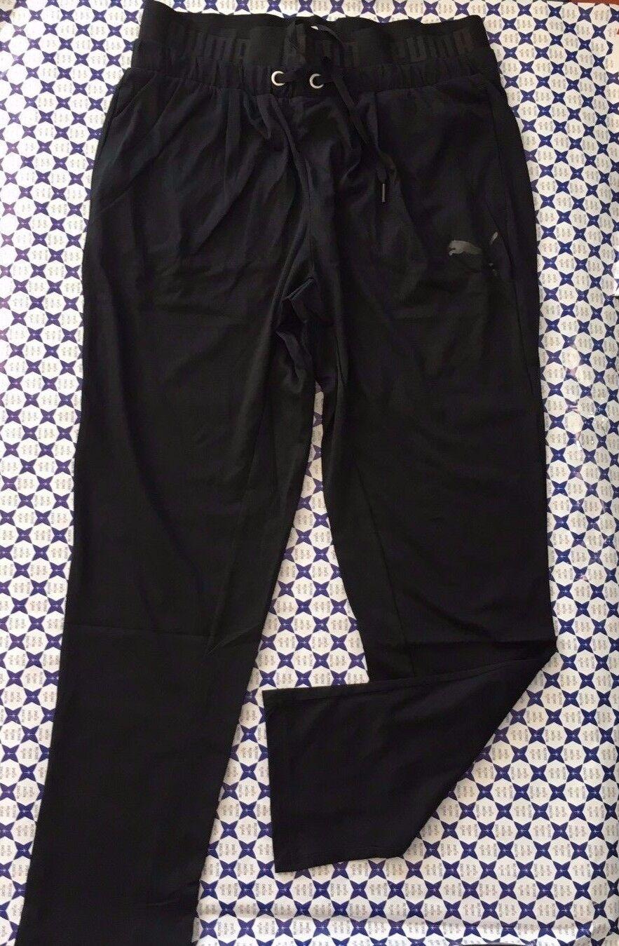 Pantalone PUMA Donna - Elastico Logato Laccetti Active - Nero - 593577