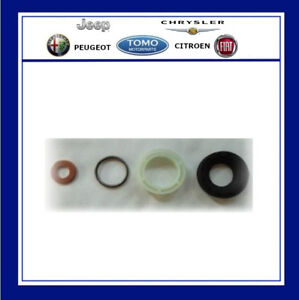 Citroen-Peugeot-1-6Hdi-Ford-TDCI-Injector-Washer-seal-Kit-Genuine-PSA-4-Piece