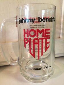 Vintage-Johnny-Bench-Home-Plate-Restaurant-Mug-Reds-1976-World-Champions