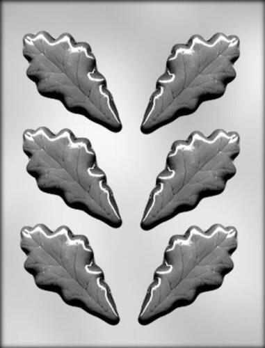 Oak Leaves Leaf Chocolate Candy Mold from CK #13186 NEW