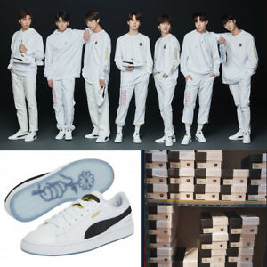 BTS Official PUMA Basket Patent Made by BTS  Standard free shipping ... 4e5c7351d