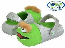 NWT Kids Sz 7 Polliwalks Boy's Girl's Clog Shoes 3D Sandals Oscar the Grudge New
