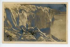 Spitsbergen—Cross Bay RPPC Antique SVALBARD Photo Foto Postkort 1910s