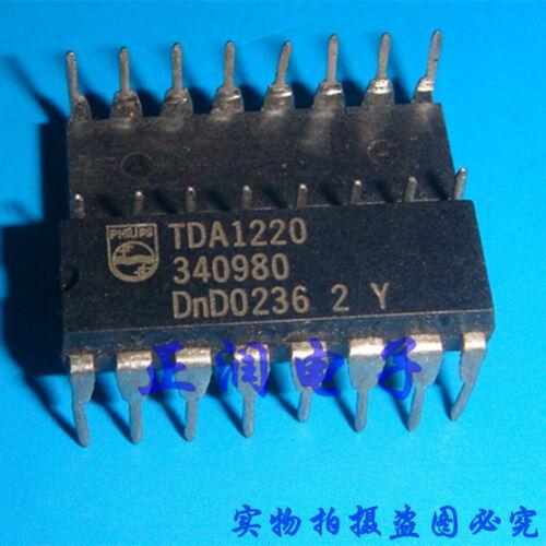 5pcs NEW TDA1220B Manu:ST Encapsulation:DIP-16 AM-FM Radio Receiver IC