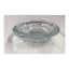 "thumbnail 7 - Crystal Ornamental Floral Clear Glass Ashtray 6"" Vintage Heavyweight (Set of 3)"