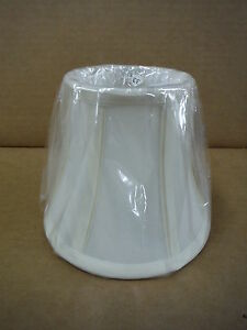 White Lamp Shade Bulb Clamp 6x5 Lighting Lamps Ebay