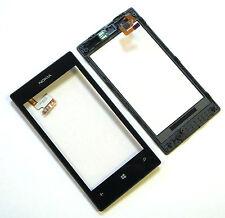 ORIGINALE Nokia Lumia 520 Touchscreen Digitizer Frame Vetro Display Sensore QUADRO