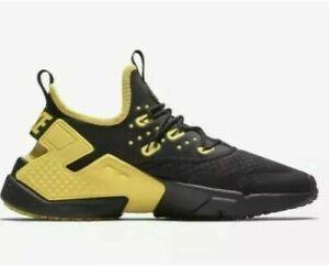 Nike Air Huarache Drift Black Yellow