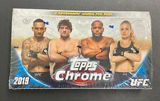 2019 TOPPS UFC CHROME SEALED HOBBY BOX