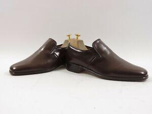 Neuf Jamais Portée Church's Chaussures Homme Personnalisé Grade Loafers UK 7.5