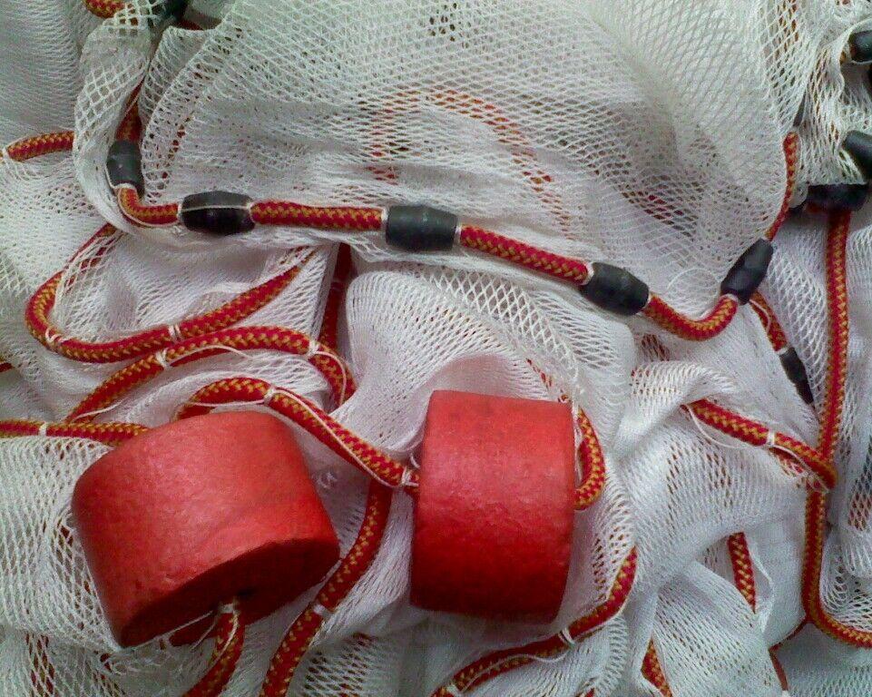 Sennes Plage   appâts de filet filet de pêche 6.1m de long - Pour Live Bait