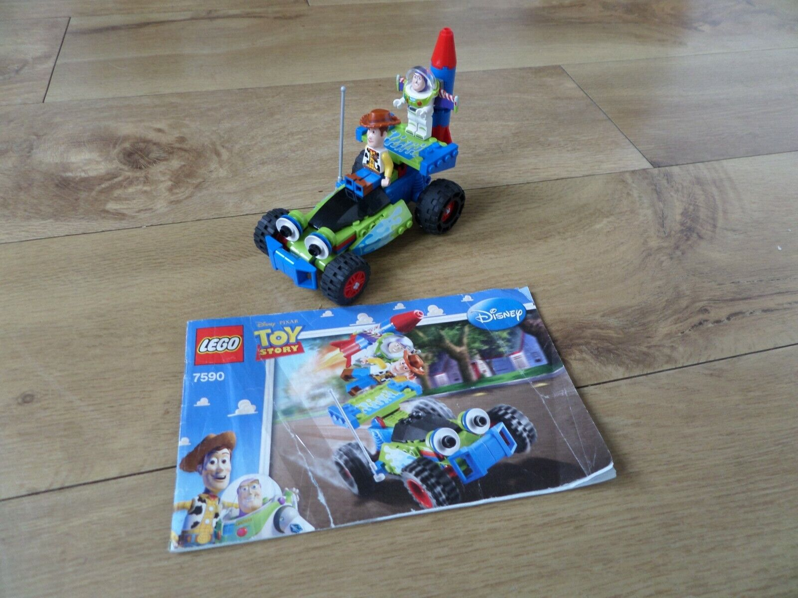 Lego Toy Story 7590 Woody and Buzz to the Rescue 100% with Instructions