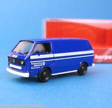 Herpa H0 044370 VW T3 Transporter THW Halle OVP HO 1:87 Technisches Hilfswerk