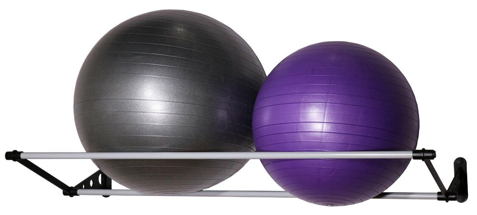 Vita Vibe Rack de almacenamiento de parojo para ejercicio Yoga bolas de estabilidad (10-36 )