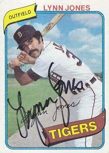 1980-Topps-123-Lynn-Jones-signed-autograph-Detroit-Tigers