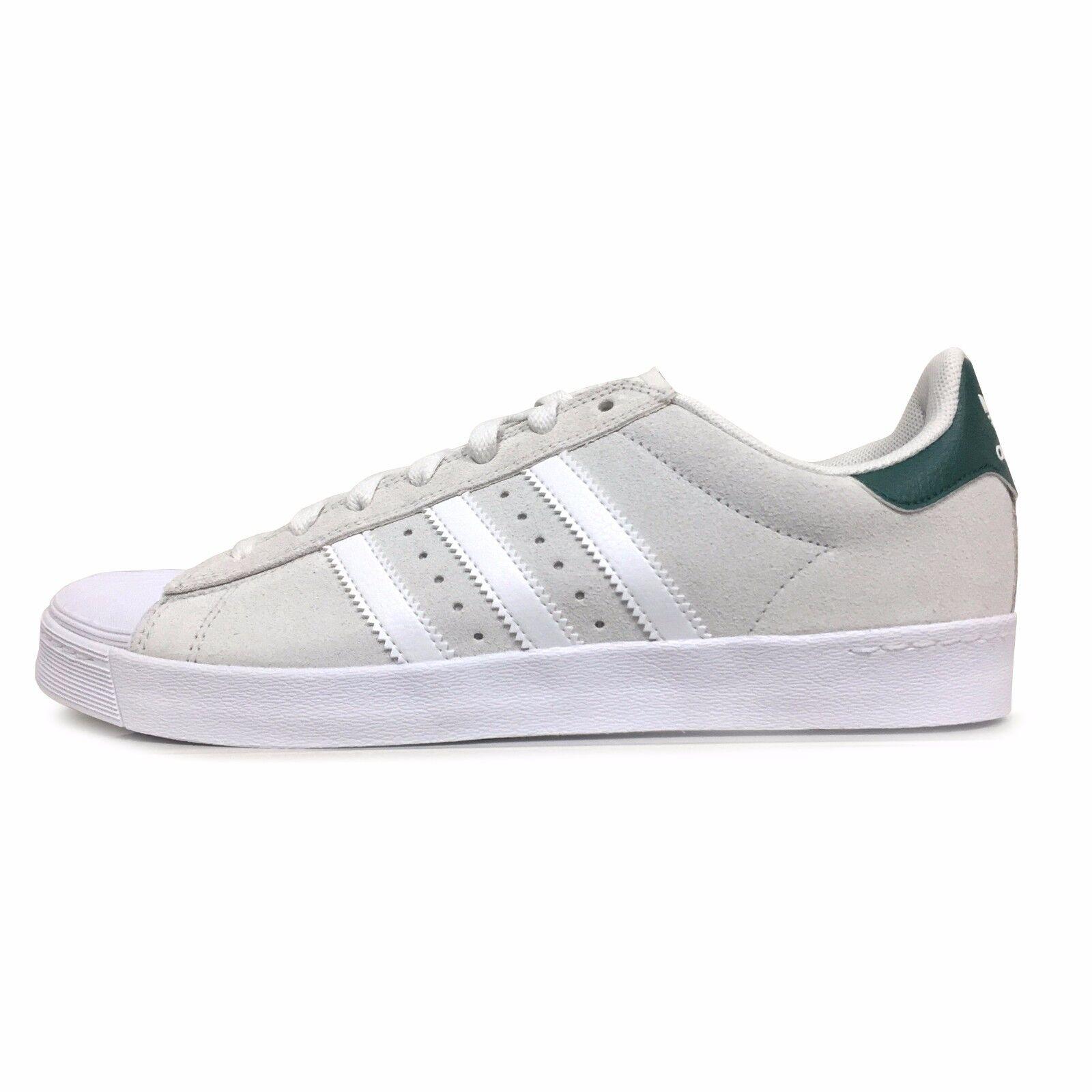 Adidas Superstar Hombre Vulc ADV | b27393 Hombre Superstar skate Zapatos | blanco / verde barato y hermoso moda 65fa41