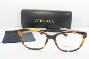 1c947160f4dcc Image is loading Versace-Women-039-s-Tortoise-Glasses-with-case-