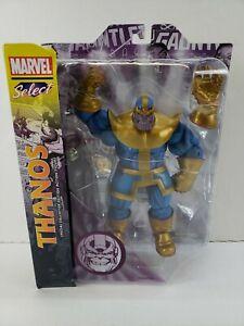 Marvel-Select-THANOS-8-034-Action-Figure-w-Infinity-Gauntlet-Diamond-Select-Toys