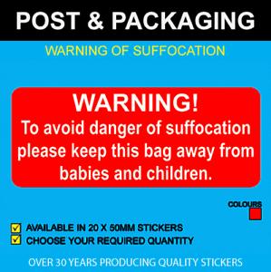 à Condition De Avertissement De Suffocation Stickers Parfait Dans L'ExéCution