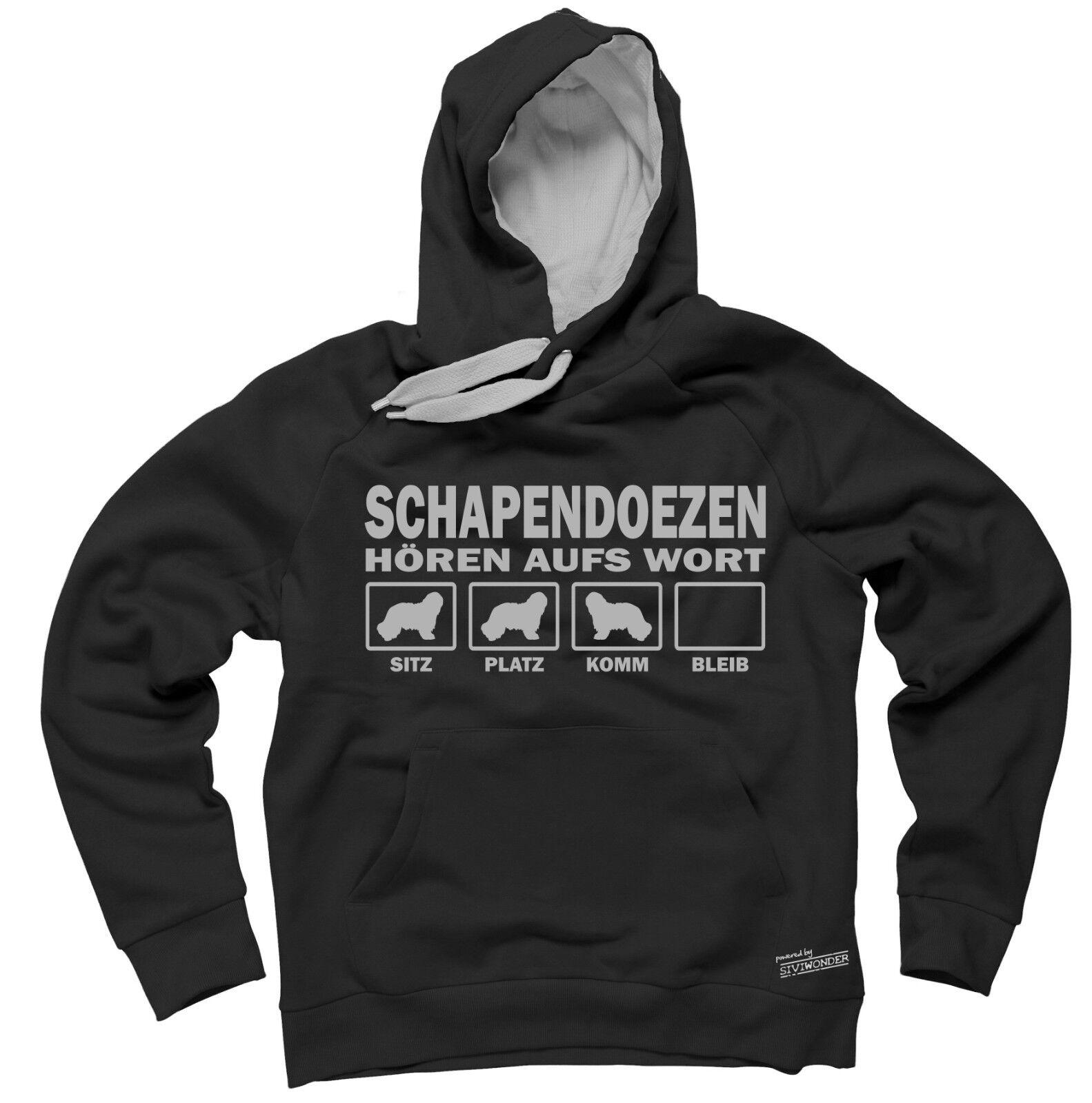 Sweatshirt SCHAPENDOES HÖREN AUFS WORT by Siviwonder Hoodie