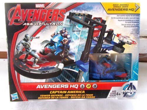 New Marvel Avengers Age Of Utron Captain America HQ Tower Play Set
