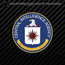 Central Intelligence Agency CIA Seal Decal Stickers clandestine Car Bumper Decor