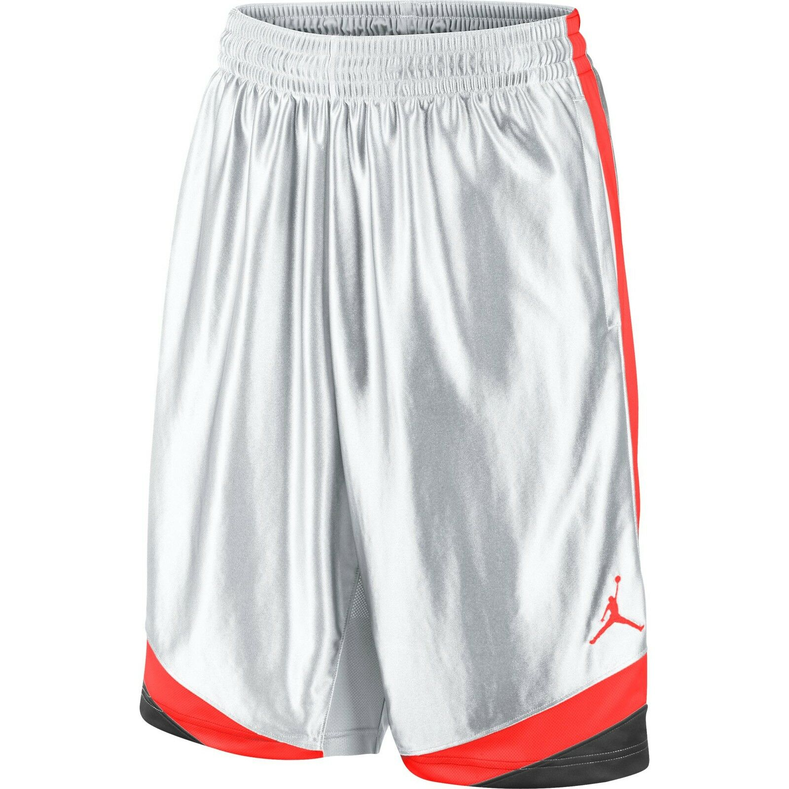 Jordan Court Vision Men's Basketball Shorts White bluee Infrared 576638-104