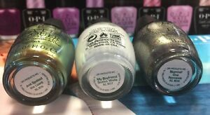 3-OPI-Just-Spotted-The-Lizard-M36-MY-BOYFRIEND-SCALES-WALLS-M37-Number-One-Neme
