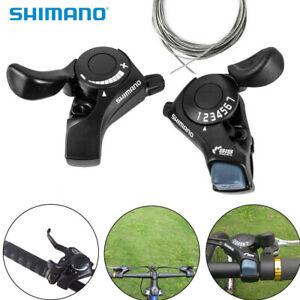 Shimano-SL-TX30-3-6-7-18-21-Speed-MTB-Mountain-Bicycle-Thumb-Gear-Shift-Set