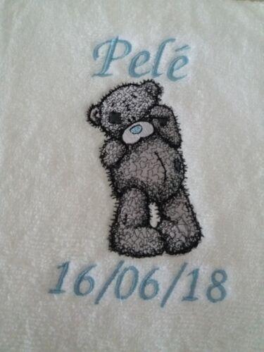 Teddy Personalised Bath Towel 100/% Cotton