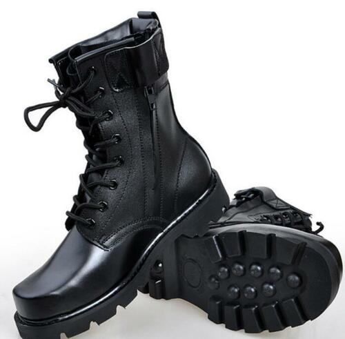 Retro Men/'s Faux Leather Fashion Military Combat Boots Desert Boots Army Shoes