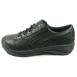 keen leather lace up casual shoes  men's size 95  black