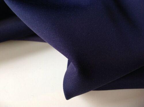 "New High Class Designer Marine gros-grain Tissu 62/""158cm Totti Valentino/'s ipman G"