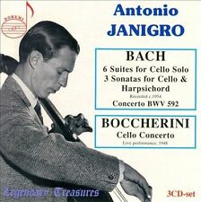 Antonio Janigro Plays Bach & Boccherini, New Music