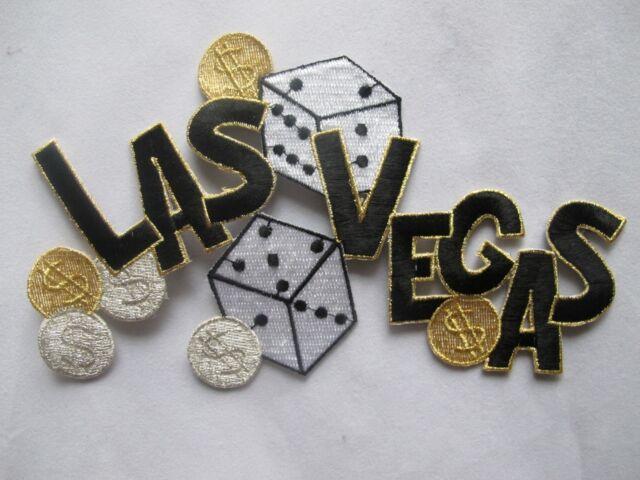 3465 Las Vegas Casino Gambling Dollar Sign Embroidery Iron On