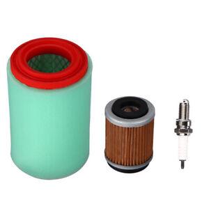 Air Filter Pre Cleaner Element w//Oil Filter for Yamaha Big Bear 400 YFM400 Bear Tracker 250 YFM250X Bruin 250 ATV
