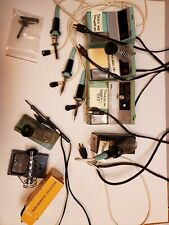 11 Used Weller Soldering Stations And Soldering Pencils And Parts