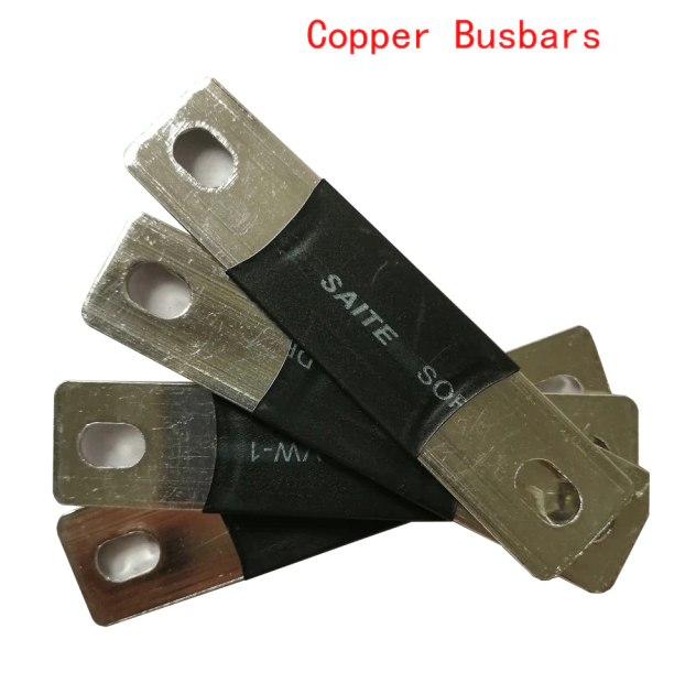 Pure Copper Nickel Plate Busbar For Li-ion 3.2V Lifepo4 Battery Cell Connector