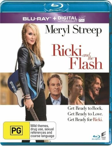 1 of 1 - Ricki And The Flash (Blu-ray, 2015)
