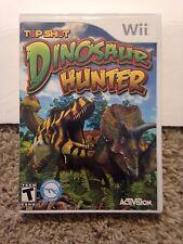 Top Shot Dinosaur Hunter Nintendo Wii Rare Kids Game Wii or Wii U