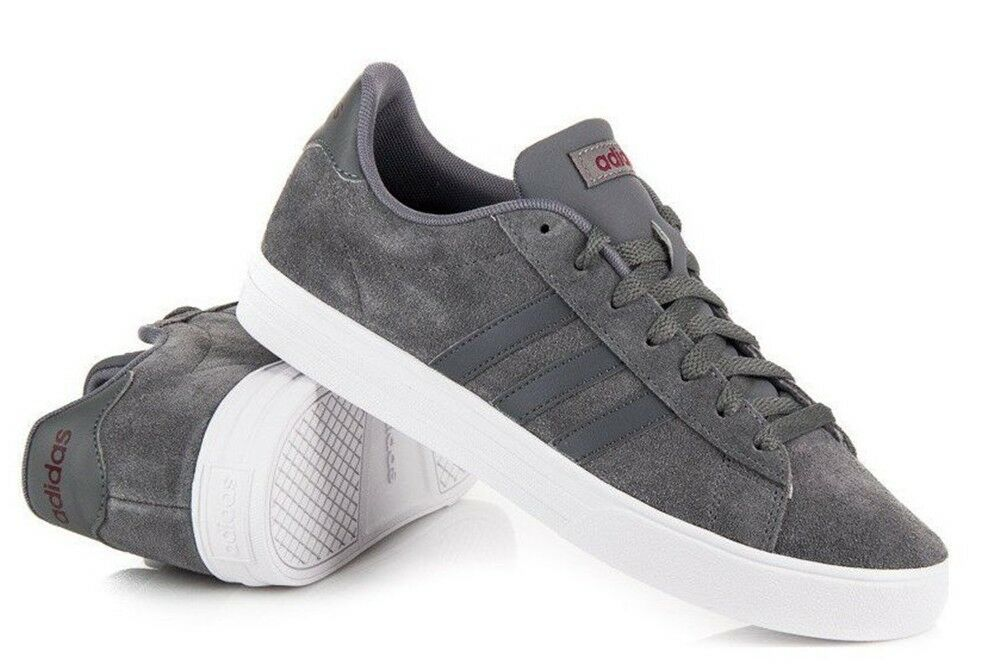 ADIDAS DAILY sports 2.0 DB0154 men's shoes sports DAILY sneakers leather suede casual run be3dff