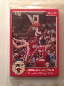Details About 1984 85 Star Chicago Bulls Sealed Team Bag 101 Michael Jordan X Rc Rookie Card