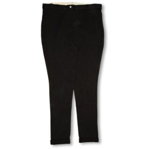 Ladies Jodhpurs 28 Inch Black Women/'s Harry Hall Chester Gvp Long Legwear