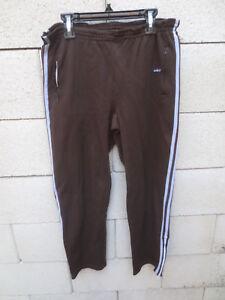 Pantalon ADIDAS LASER vintage pant bleu marine VENTEX années