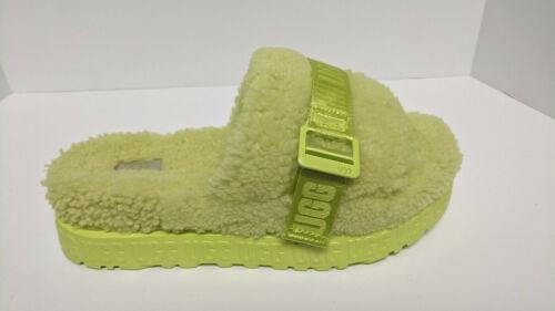UGG Fluffita Slippers, Yellow, Women's 10 M