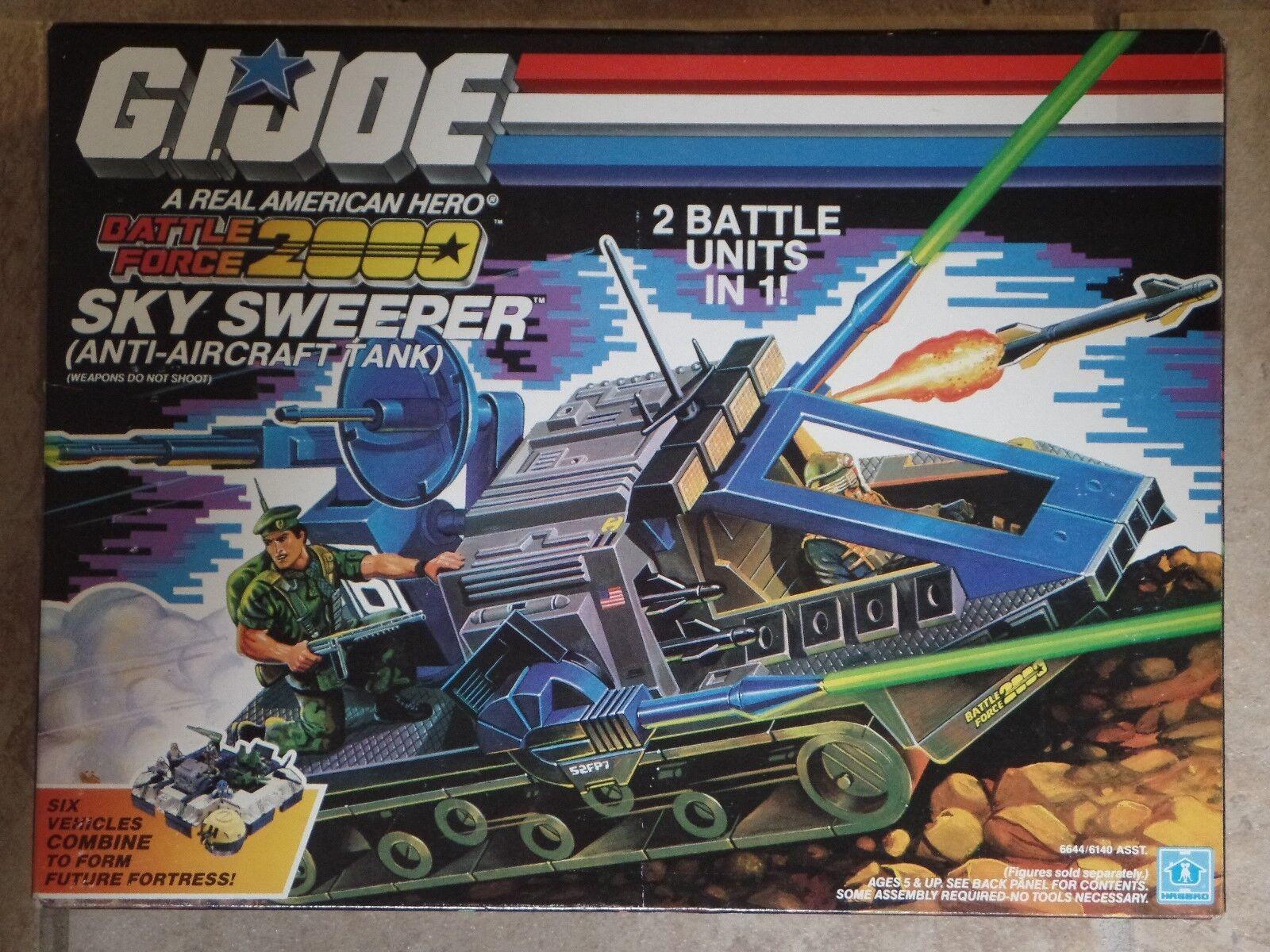 Gi Joe Battle Force 2018 Sky Sweeper Tanque Hasbro 2018 Nuevo Sellado Menta en Caja Sellada