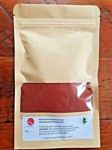 Legno di sandalo rosso naturale TINTURA vegetale estratto (Ignite Red) 200g