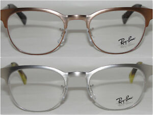 228fda8a1a Image is loading NEW-RAYBAN-MEN-039-S-EYEGLASSES-METAL-FRAME-