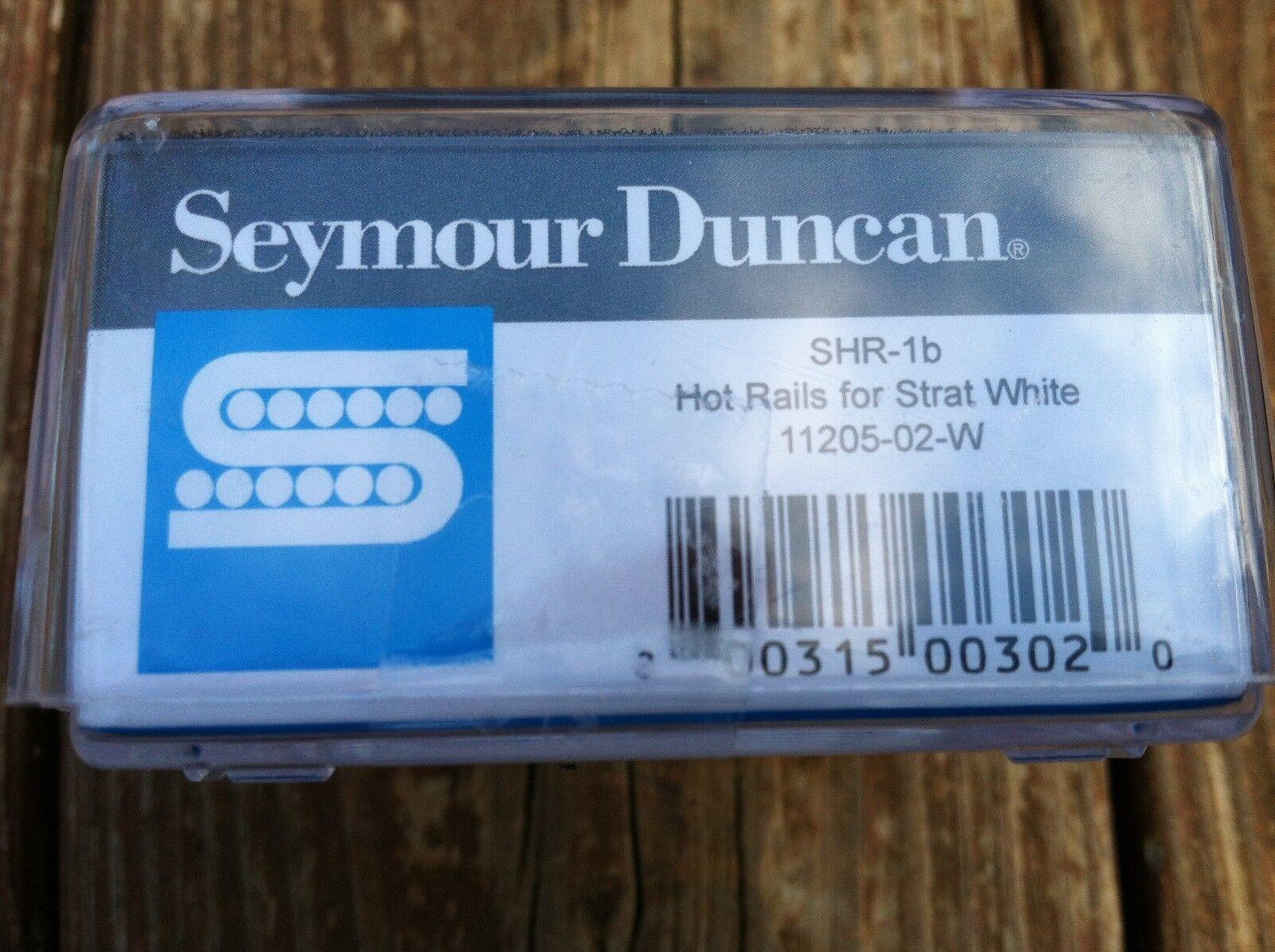 Seymour Duncan Shr-1b Hot Rails Strat Pickup Bridge White | eBay