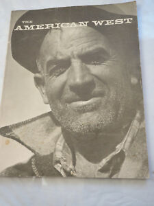 The American West magazine Spring 1964 Ansel Adams Photo coverVol.1 No,2